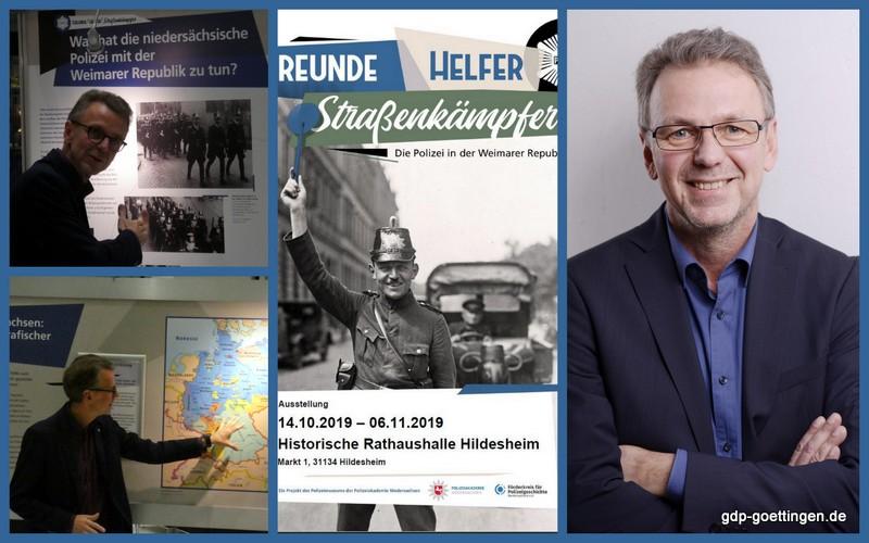 """Vortragsprogramm/Veranstaltungstipp: Dr. Dirk Götting in Hildesheim: """"Die Polizei in der Weimarer Republik"""""""