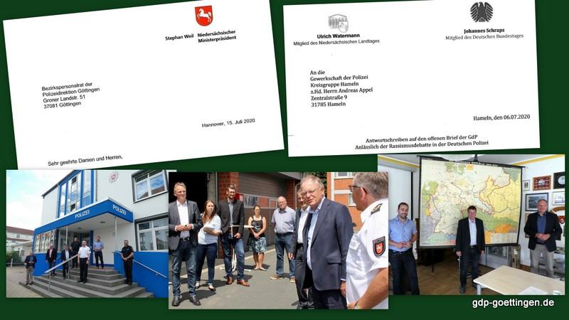 """Politikreaktionen zum Thema """"Rassismusvorwürfe"""". Der Ministerpräsident Stefan Weil sowie einzelne Landtags- und Bundestagsabgeordnete antworteten:"""