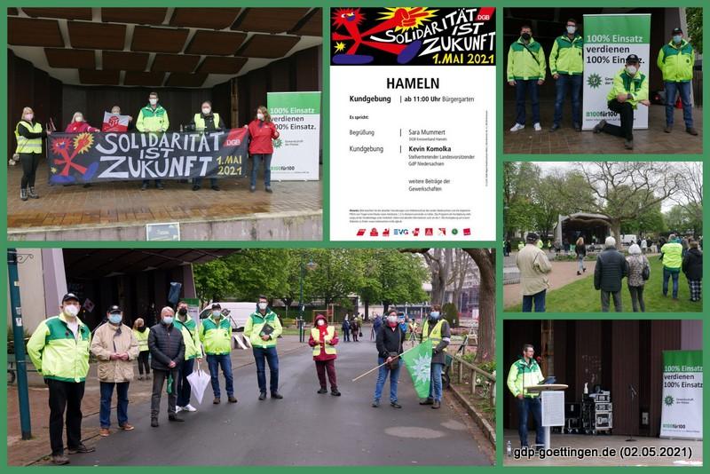 1. Mai 2021 in Hameln