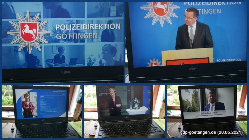 Zur Amtseinführung von Gwendolin von der Osten – Polizeipräsidentin Göttingen