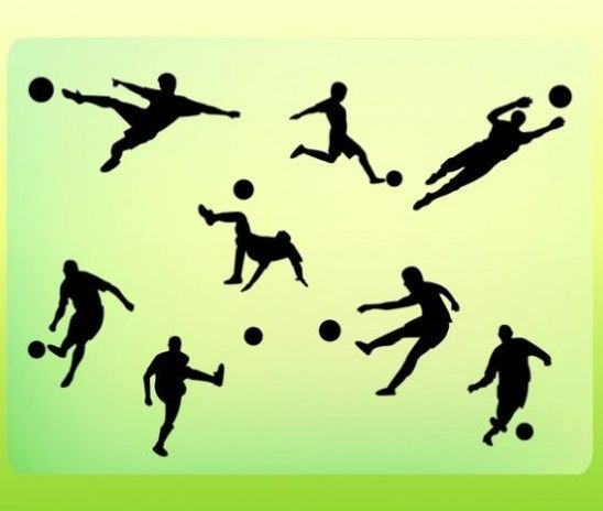 Awesome football postures, soccer football skills….
