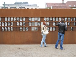 Memorial to victims of the Wall at Berlin at Bernauer Strasse (2011, author's photo)