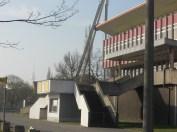Main entrance at Jahn Sportpark, East Berlin (photo: author).