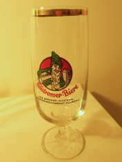 """Beer Tulip"" for Güstrower Beers, a group of breweries in the north of the GDR (photo: author)."