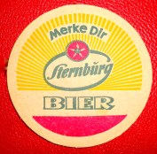"""Take note: Sternburg Beer"", a slogan the brand still uses today (photo: author)."