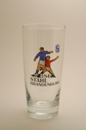 """BSG Stahl Brandenburg (20th place, 7 seasons, 174 points), nicknamed """"the Juice Drinkers"""" for their choice of glassware."""