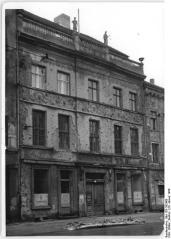 Ermeler House in 1950 at its original location on Breite Strasse 11 (photo: Bundesarchiv 183-s92468).