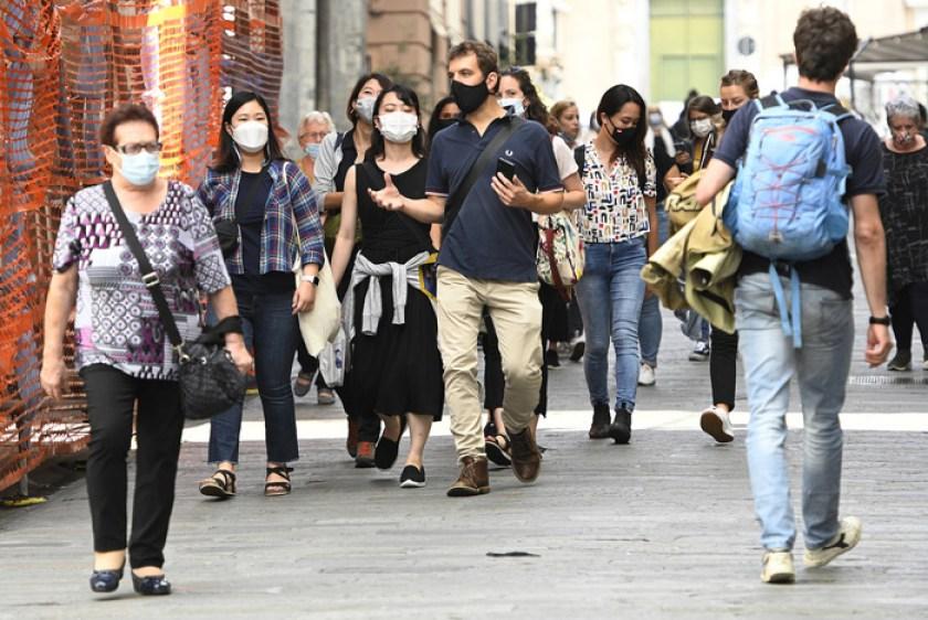 Covid, monitoraggio settimanale: più casi e ricoveri in Sicilia, regioni a  rischio moderato da 10 a 17 - Giornale di Sicilia