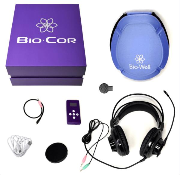 Bio-Cor with accessories