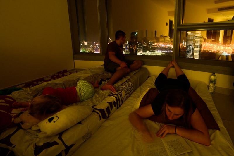 """Czasem """"ciasny pokoik"""" wygląda tak - w Abu Dhabi."""