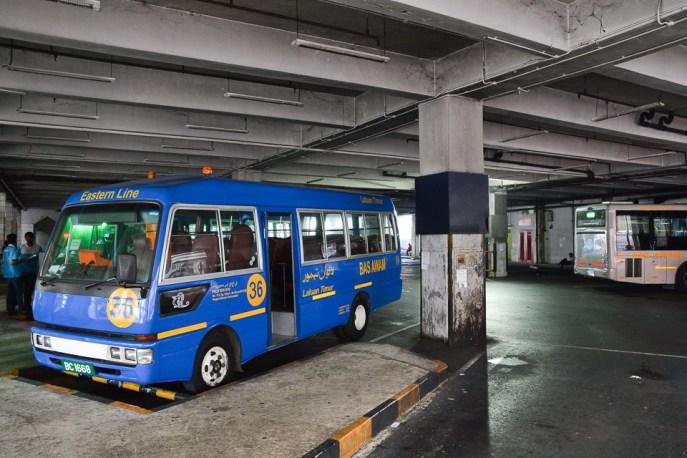 Główny dworzec autobusowy w stolicy - Bandar Seri Begawan
