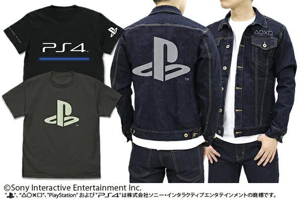 【画像】PS4のロゴをあしらったTシャツとジージャンが格好良すぎる件