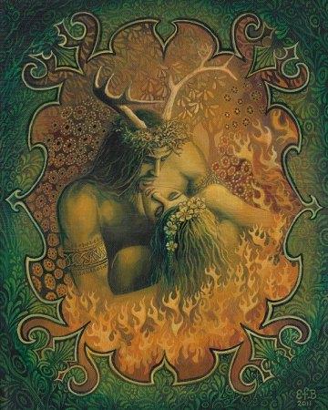 Cernunnos e la dea madre