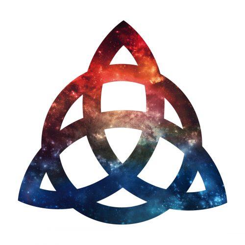 Amuleto WIccan Triade