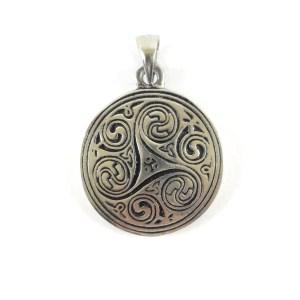 Ciondolo Triskele celtico
