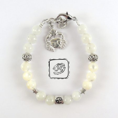 Bracciale Zodiaco Cancro Donna bianco