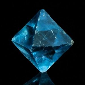 Fluorite Blu ottaedrica