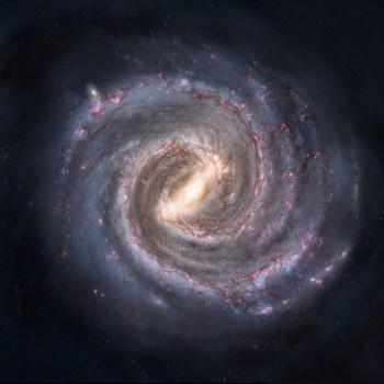 Spirale Fibonacci Galassia Via Lattea