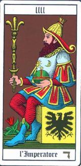Tarocchi Wirth Imperatore