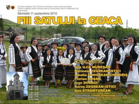 Fiii satului Geaca 2010