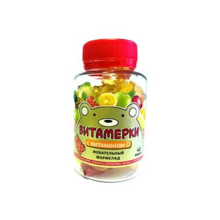 Мармелад жевательный с витамином D