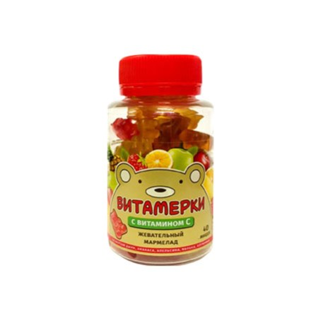 Мармелад жевательный с витамином С