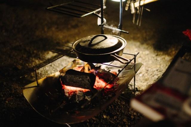 夕ご飯 カレードリア調理中