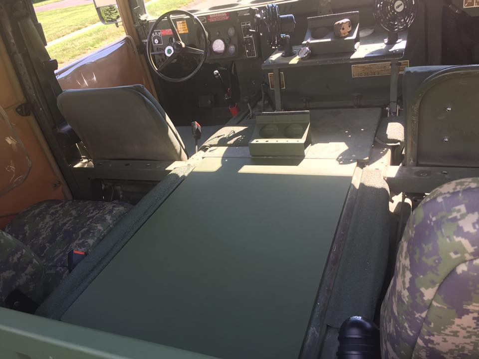 humvee diy how to make a hmmwv tunnel cover gear report. Black Bedroom Furniture Sets. Home Design Ideas