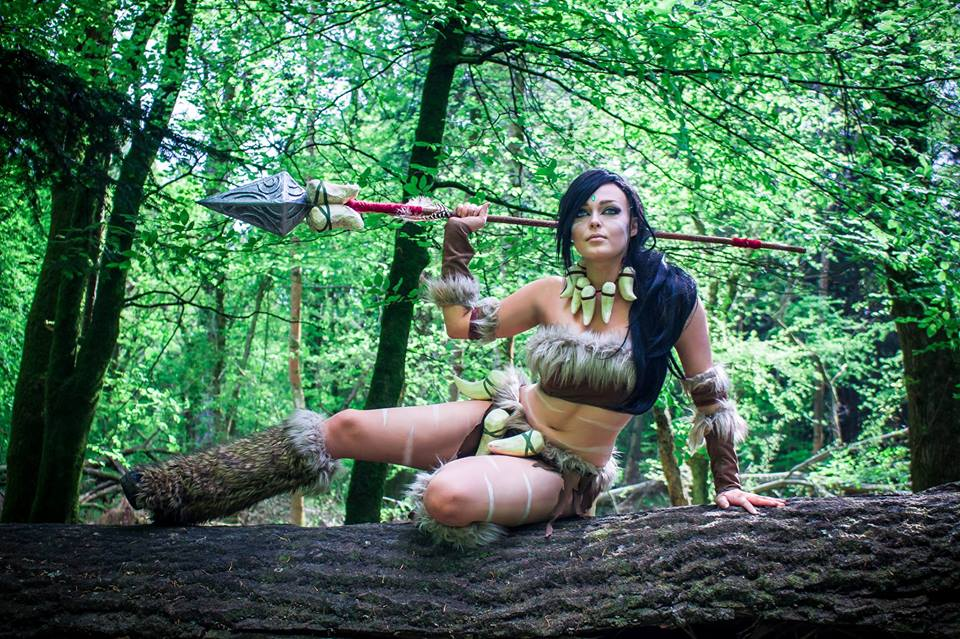Onyxeia League of Legends Nidalee Cosplay