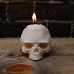 Corpo Sancto Skull Candle
