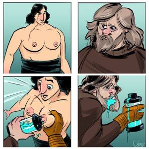 Star Wars The Last Jedi Kylo Milked