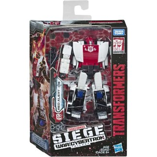 Transformers War For Cybertron Siege Red Alert deluxe action figure