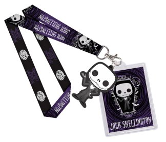 Nightmare Before Christmas Funko Pop Lanyard Jack Skellington