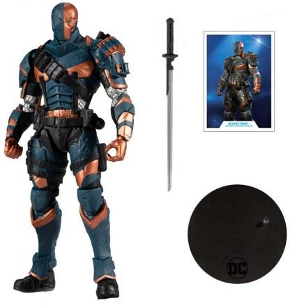 DC Gaming Action Arkham Origins Deathstroke Action Figure