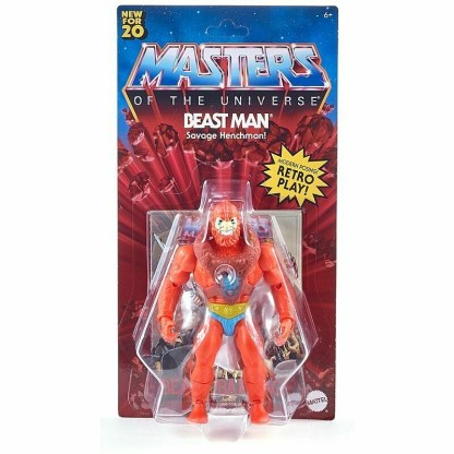 Masters of the Universe Origins Beast Man figure image