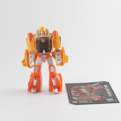 Transformers Titans Return Wheelie with card PREOWNED