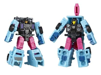 Transformers War For Cybertron Earthrise Direct-Hit & Power Punch Micromasters