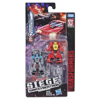 Transformers War For Cybertron Siege Roadhandler and Swindler Micromasters DAMAGED PACKAGING