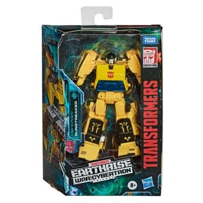 Transformers War for Cybertron Earthrise Sunstreaker Deluxe Action Figure