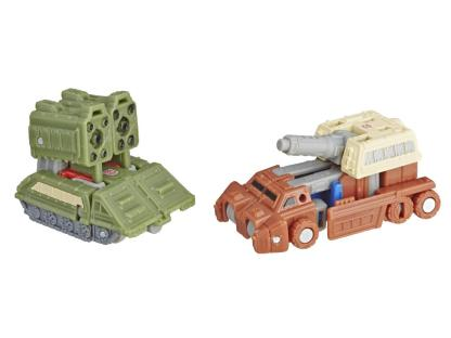 Transformers War For Cybertron Siege Topshot and Flak Micromasters DAMAGED PACKAGING