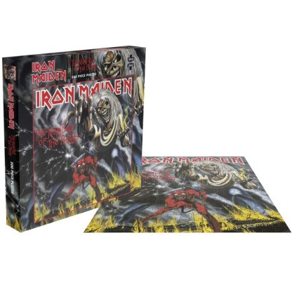 Iron Maiden Number of the Beast Official 500 piece Jigsaw Puzzle