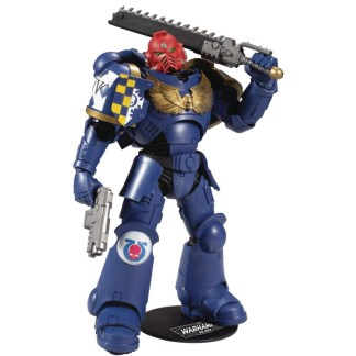 "McFarlane Warhammer 40,000 Ultramarines Primaris Assault Intercessor 7"" Action Figure"