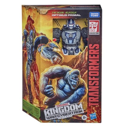 Transformers War for Cybertron: Kingdom Voyager Optimus Primal Action Figure