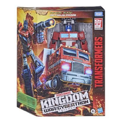 Transformers War for Cybertron: Kingdom Leader Optimus Prime Action Figure