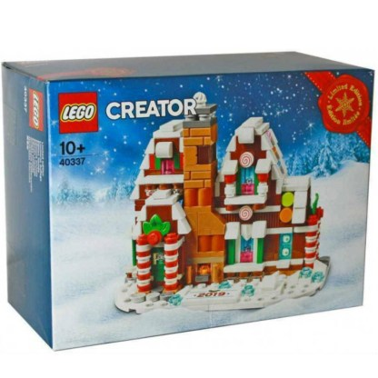 LEGO Creator Microscale Gingerbread House 40337 2019 Limited Edition