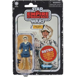 Star Wars Retro Collection Han Solo Hoth Toy 3.75-inch Empire Strikes Back Figure