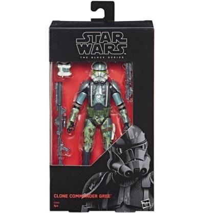 Star Wars Black Series Clone Commander Gree Action Figure Toy