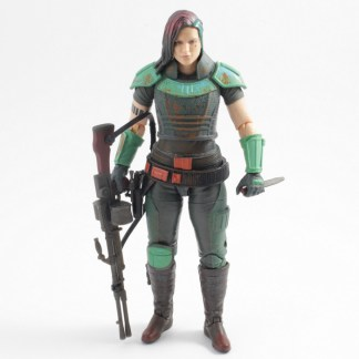 Star Wars Black Series The Mandalorian Credit Collection Cara Dune Complete PREOWNED