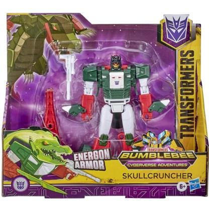 Transformers Bumblebee Cyberverse Adventures Ultra Class Skullcruncher Action Figure Toy