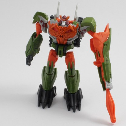 Transformers Prime Cyberverse Commander Bludgeon Incomplete PREOWNED